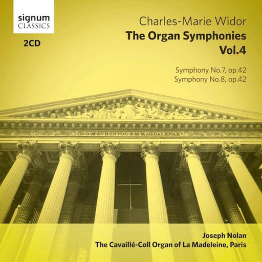 Charles-Marie Widor - The Organ Symphonies Vol. 4  MP3 44.1 KHZ - 2CH