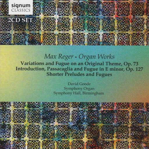 Max Reger - Organ Works - Variations MP3 44.1 KHZ - 2CH